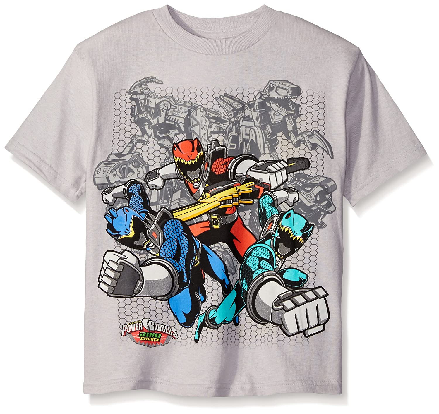 Power Rangers Boys' Short Sleeve T-Shirt Freeze Children's Apparel HXSB204-04J
