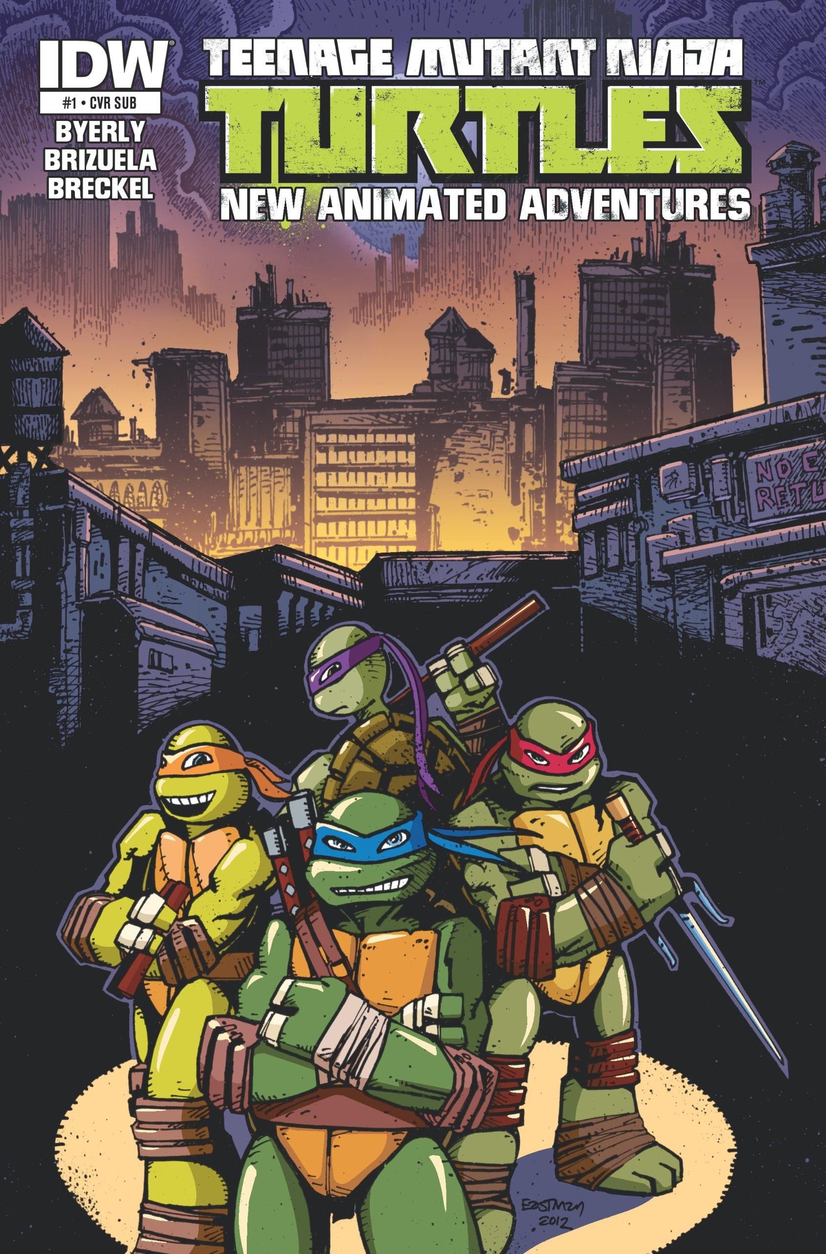 Teenage Mutant Ninja Turtles New Animated Adventures #1 ...