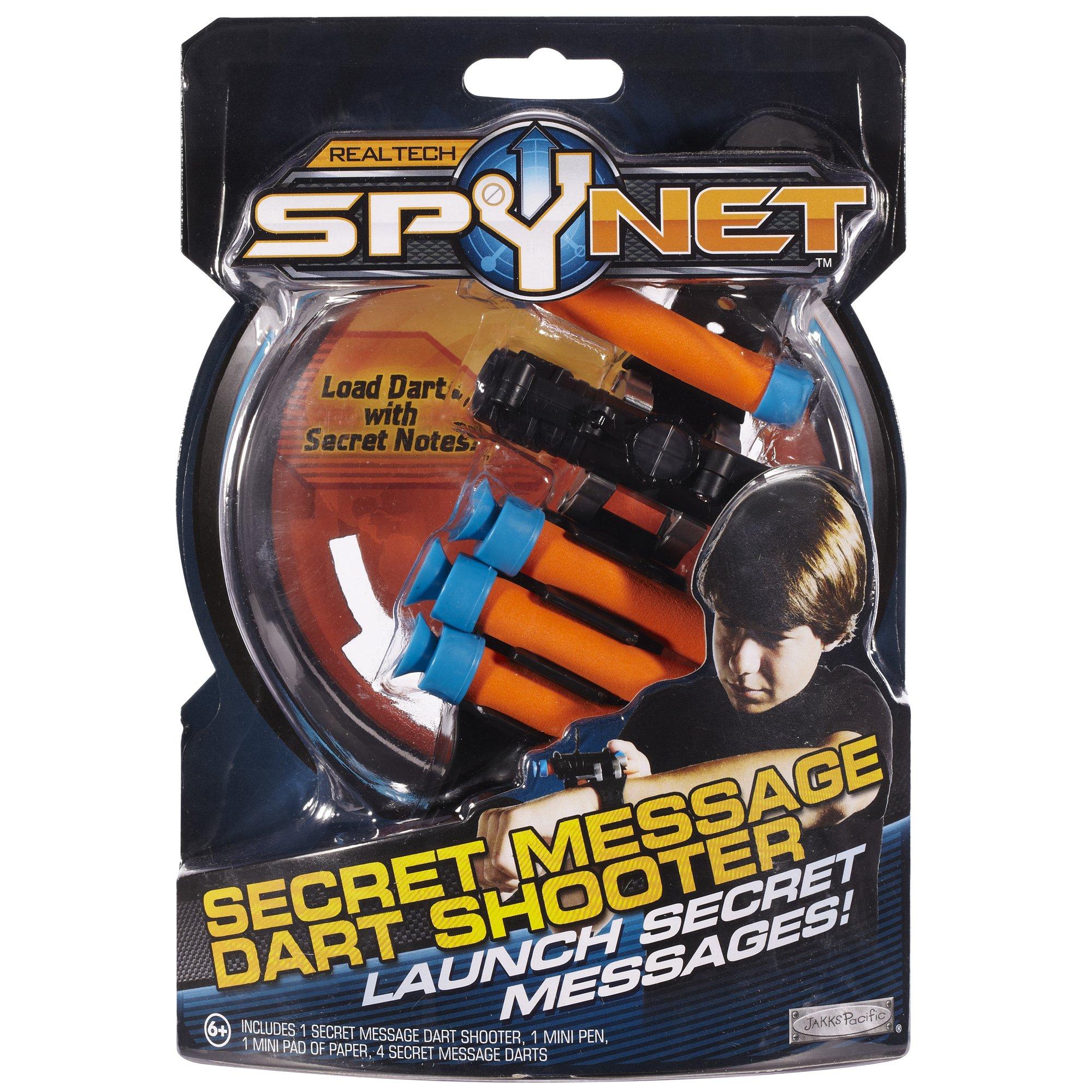 Spy Net Secret Message Dart Shooter