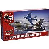 Airfix - Kit de modelismo, avión Supermarine Swift F.R. Mk5, 1:72 (Hornby A04003)
