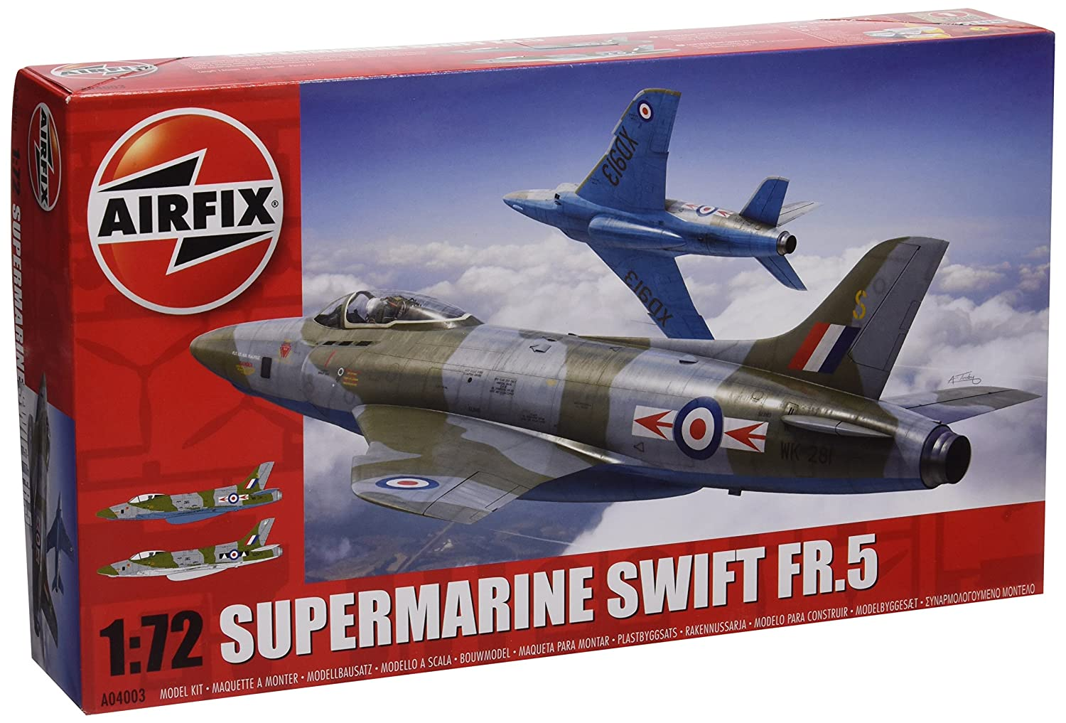 Airfix Supermarine Swift FR.5 Model Kit (1:72 Scale)