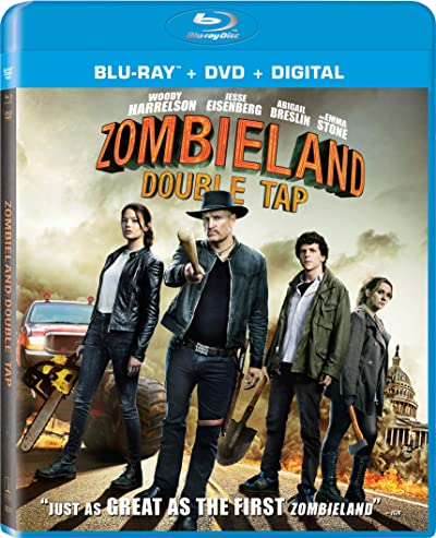 Zombieland: Double Tap 2019 BRRip 300MB Dual Audio Hindi