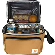 Carhartt Deluxe Dual Compartment Insulated Lunch Cooler Bag Carhartt Brown