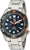 Orient Men's 'M-Force Bravo' Japanese Automatic Stainless Steel Diving Watch, Color:Silver-Toned (Model: SEL0A002D0)