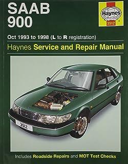Saab 900 repair manual 1990 1998.