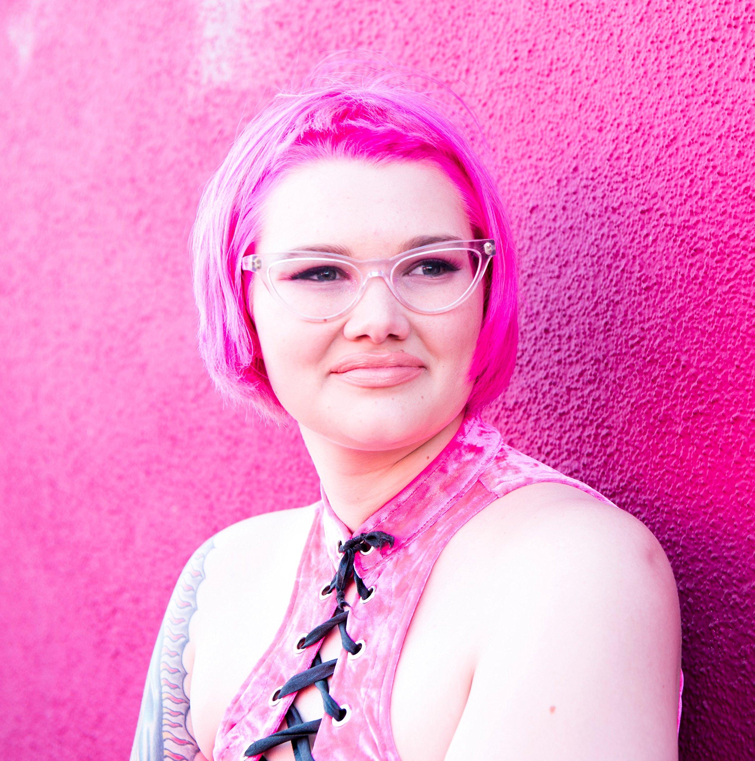 Good Dye Young Semi-Permanent Vegan & Cruelty-Free Cream Hair Dye Color [EX-GIRL PINK 4oz]