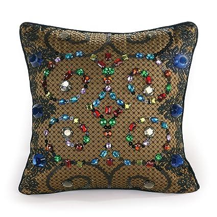 Amazon Nanette Lepore Villa Teal Baroque Jewels Decorative Adorable Villa Decorative Pillows