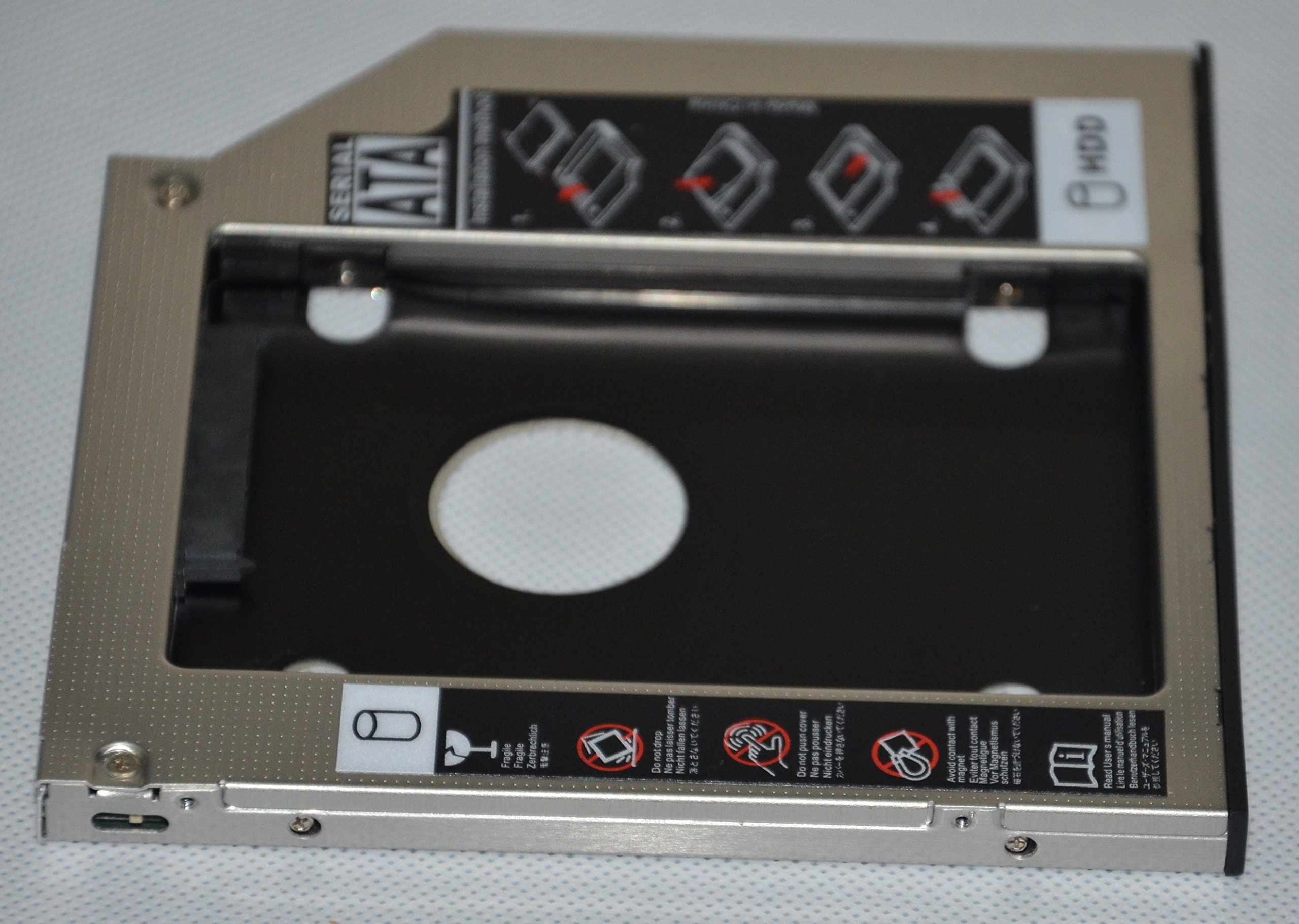 Deyoung 2nd HDD SSD Caddy Adapter for Dell Latitude E6420 E6520 E6320 E6430 E6530 E6330 by De Young (Image #4)