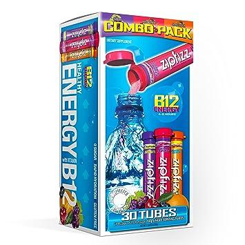Amazon com : Zipfizz Healthy Energy Drink Mix, Hydration with B12