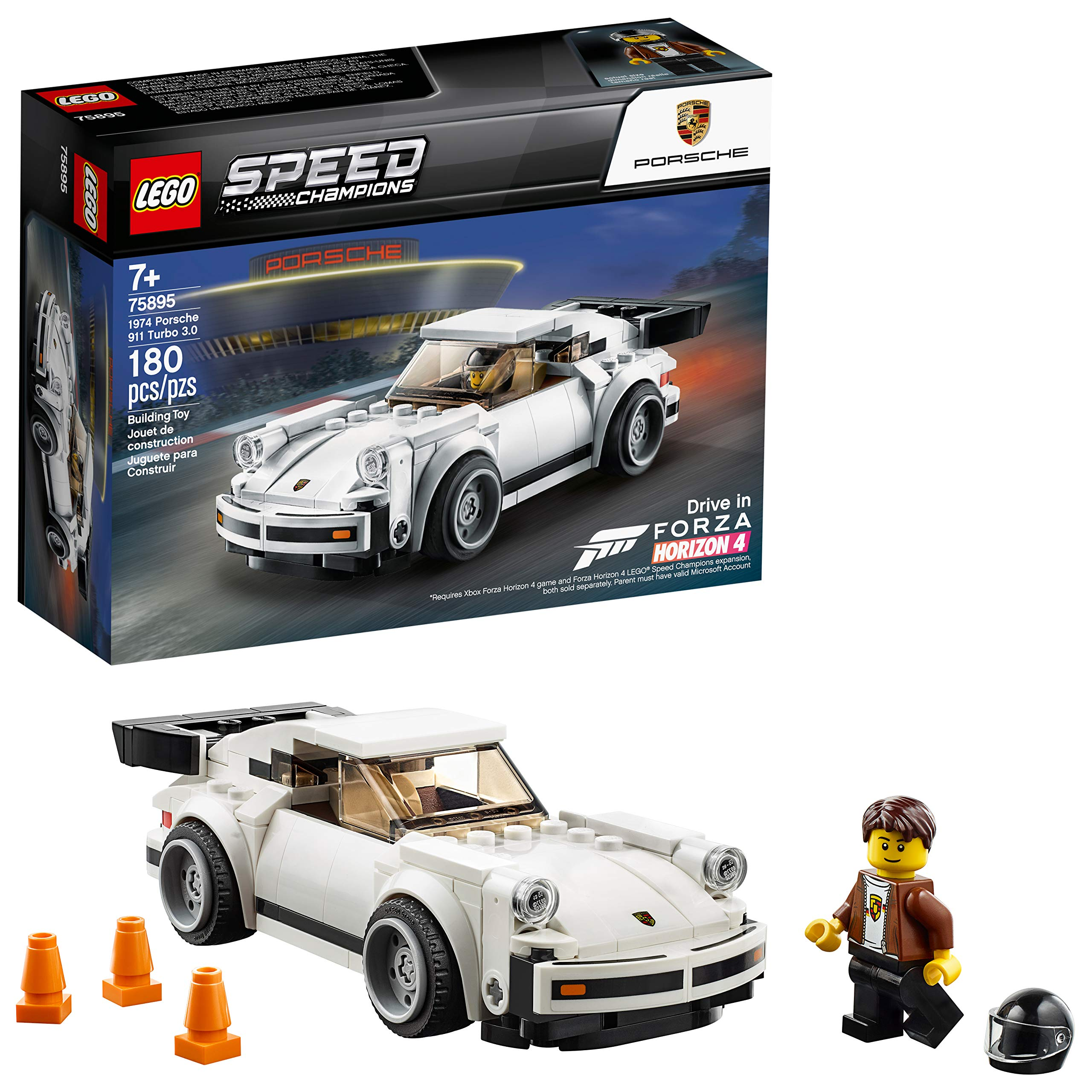LEGO Speed Champions 1974 Porsche 911 Turbo 3.0 75895 Building Kit (180 Pieces)