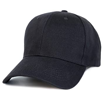 bfd4f8348bbaf Amazon.com  Juvale Plain Baseball Caps - Set of 24 Blank Cotton Dad ...