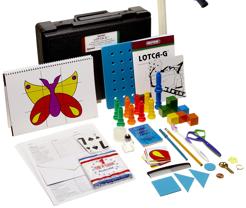 Amazon.com: lotca-g Batería theraputic cognitivo Evaluación ...