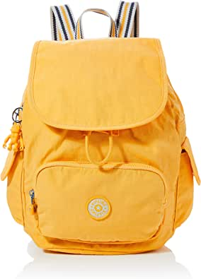 KiplingCity Pack SMujerMochilasAmarillo (Vivid Yellow)27x33.5x19 Centimeters (B x H x T): Amazon.es: Zapatos y ...