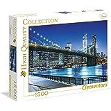 Clementoni 31804 - Puzzle Collezione Alta Qualità New York, 1500 Pezzi