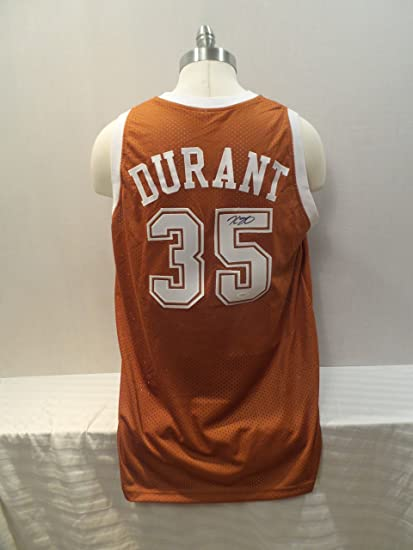 7cddd96e824 Kevin Durant Signed Texas Longhorns Autographed Custom Men XL Jersey at  Amazon s Sports Collectibles Store