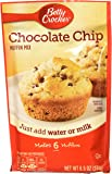 Betty Crocker Muffin Mix, Chocolate Chip, 6.5 Ounce (Pack of 9)
