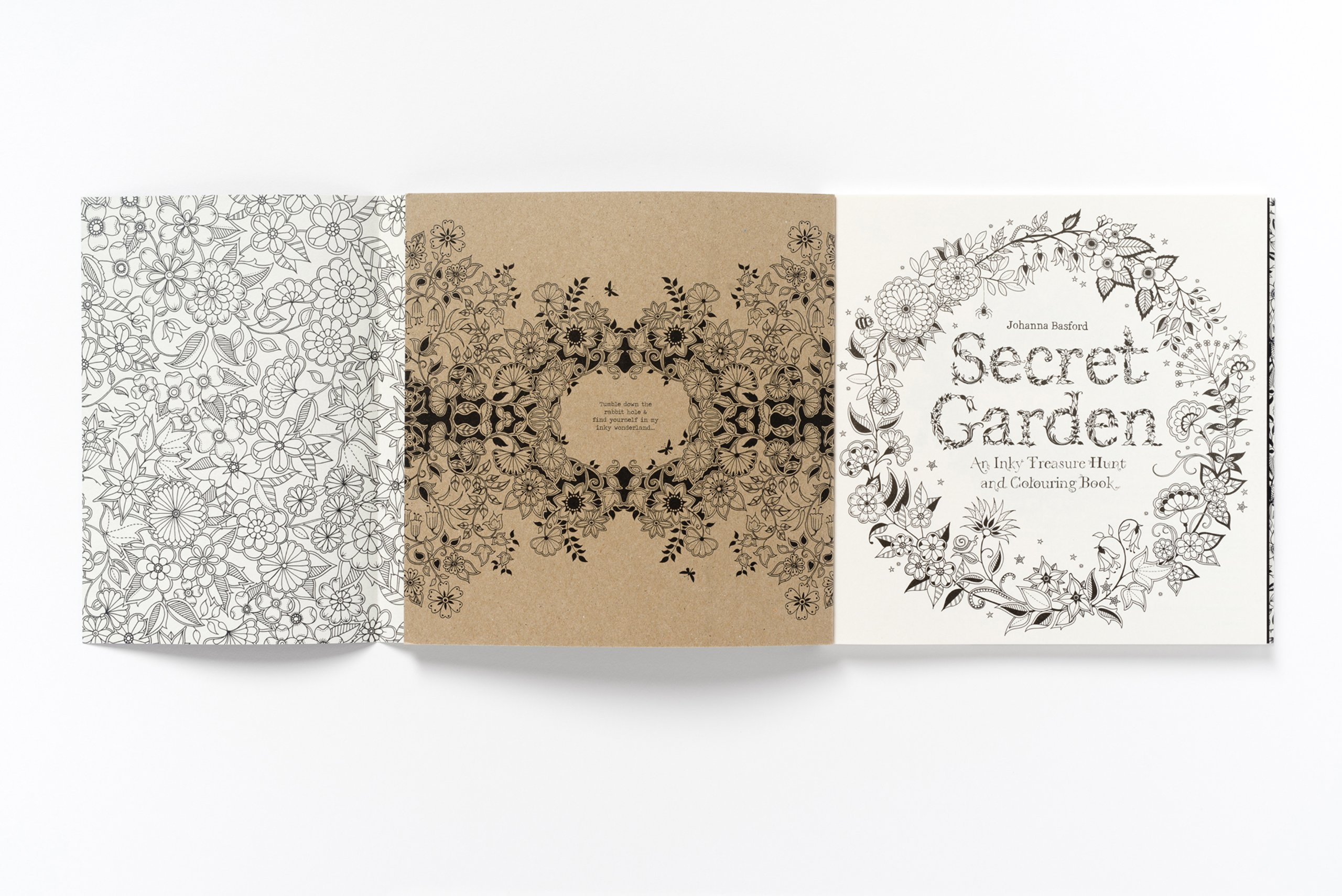 Secret Garden An Inky Treasure Hunt And Coloring Book Johanna Basford 9781780671062 Amazon Books