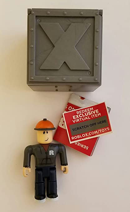 """Roblox BUILDERMAN Series 1 Mystery Box 2.5/"""" Figures Toys Builder Man NEW~No Code"""