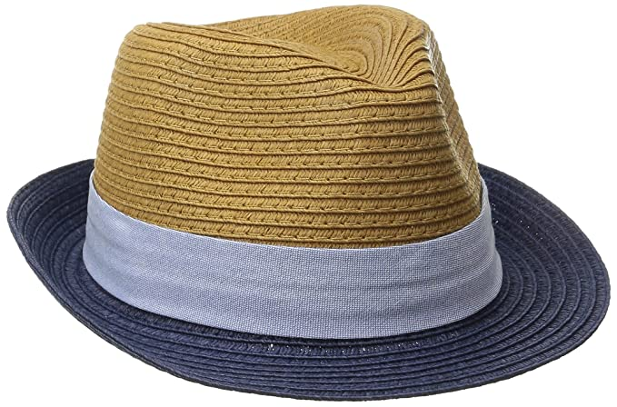 e79247f48ad Amazon.com  Mud Pie Baby Boys  Straw Fedora