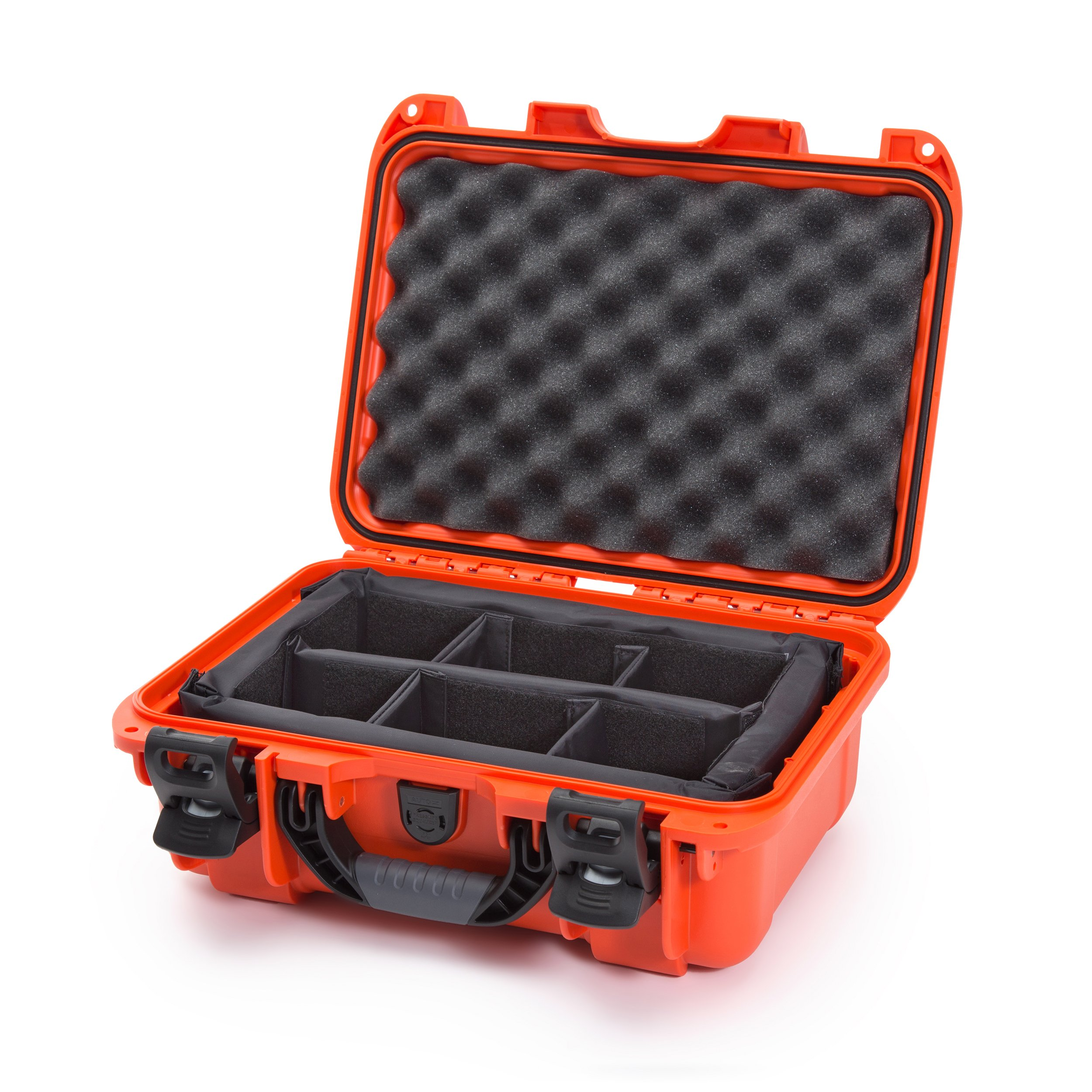 Nanuk 915 Waterproof Hard Case with Padded Dividers - Orange by Nanuk