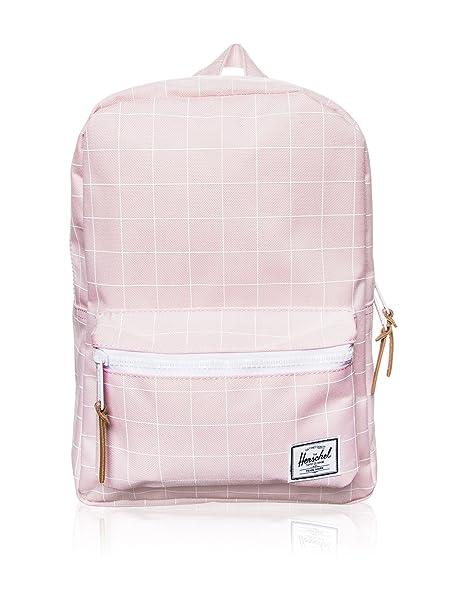 5fc2b7342f3 Herschel Supply Co. Unisex Settlement Kids (Little Kids Big Kids) Ballerina  Pink Grid Ballerina Pink White Backpack  Amazon.ca  Clothing   Accessories