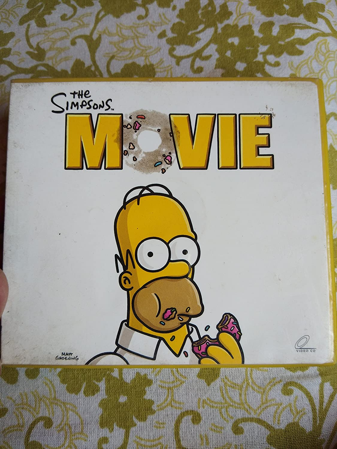 The Simpsons Movie Vcd Amazon In Movies Tv Shows