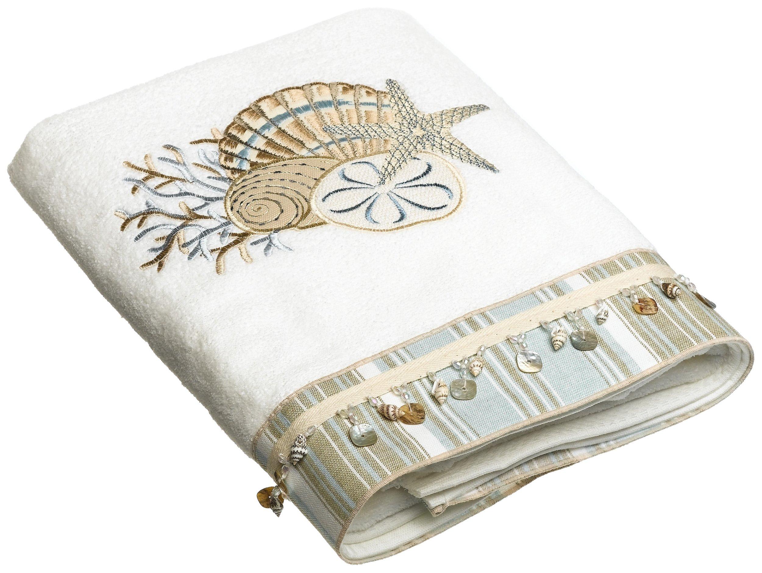 Avanti Linens By The Sea Bath Towel, White