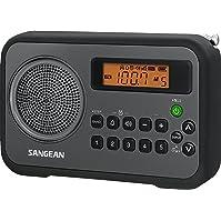 Sangean PR-D18BK AM FM Portable Digital Radio
