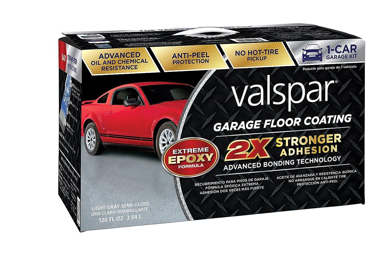 Valspar 81020 Light Gray Garage Floor Coating Kit Motor Satria 120 R Oz Automotive