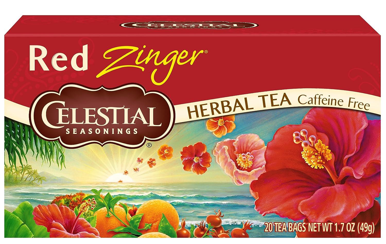 Amazon Celestial Seasonings Herbal Tea Red Zinger 20 Count