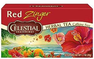 Celestial Seasonings Red Zinger Tea, 20 Count