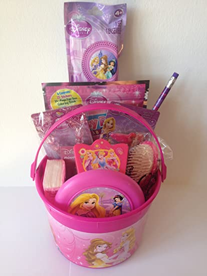 Amazon disney princess bucket of fun set perfect for easter amazon disney princess bucket of fun set perfect for easter basket birthday gift or any other special occassion toys games negle Choice Image