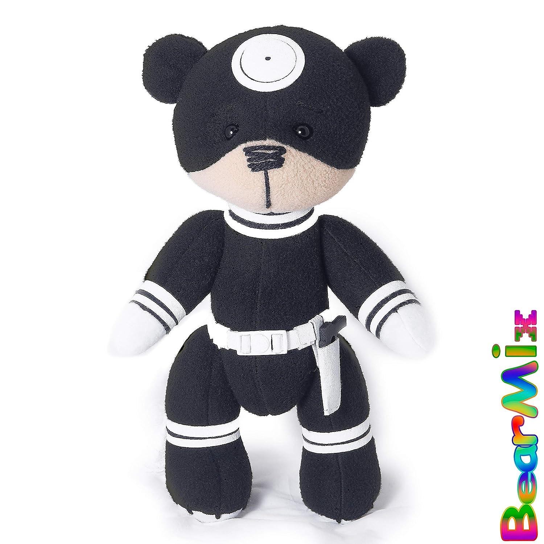 Bullseye bear - marvel movie comic plush toy enemy daredevil