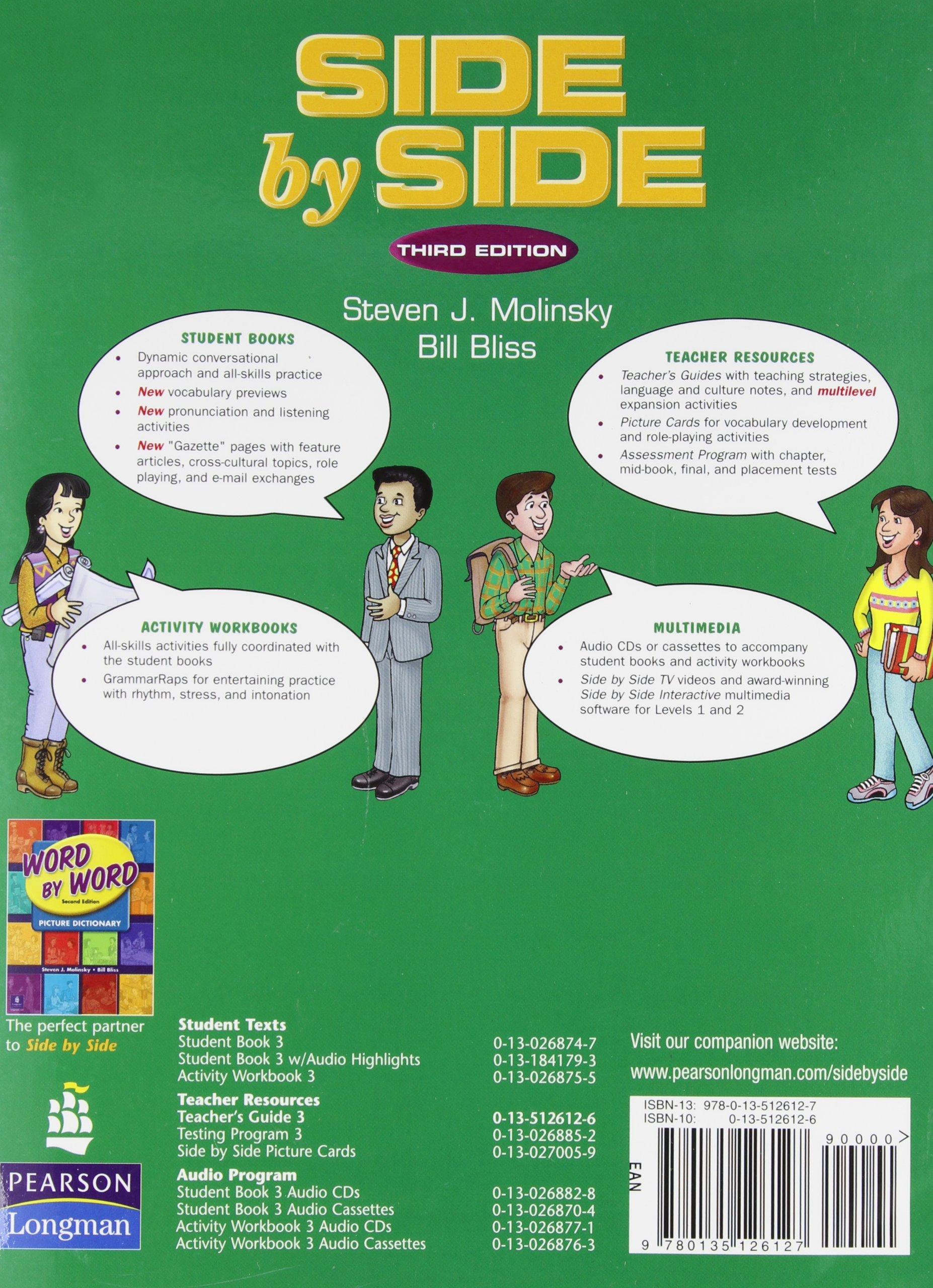 Side by Side 3: Teachers Guide: MOLINSKY: 9780135126127: Amazon.com: Books