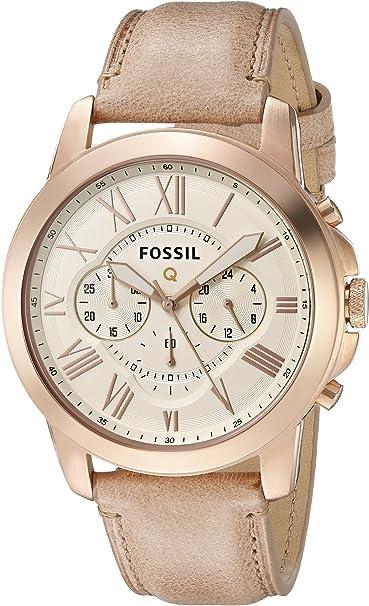 Fossil ftw10021 Fossil Q subvención Cronógrafo Arena Rose Gold ...