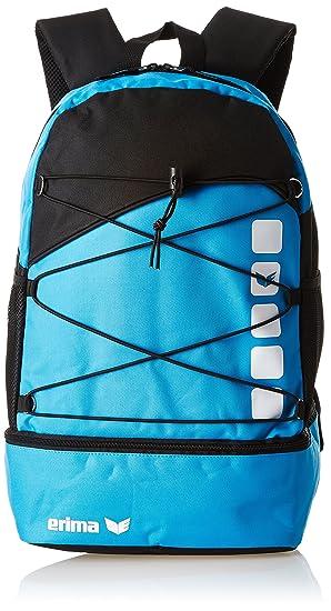 Erima Kinder Tasche Multifunktionsrucksack Mit Bodenfach