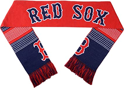 Forever Collectibles MLB Boston Red Sox Scarf Team Colors One Size