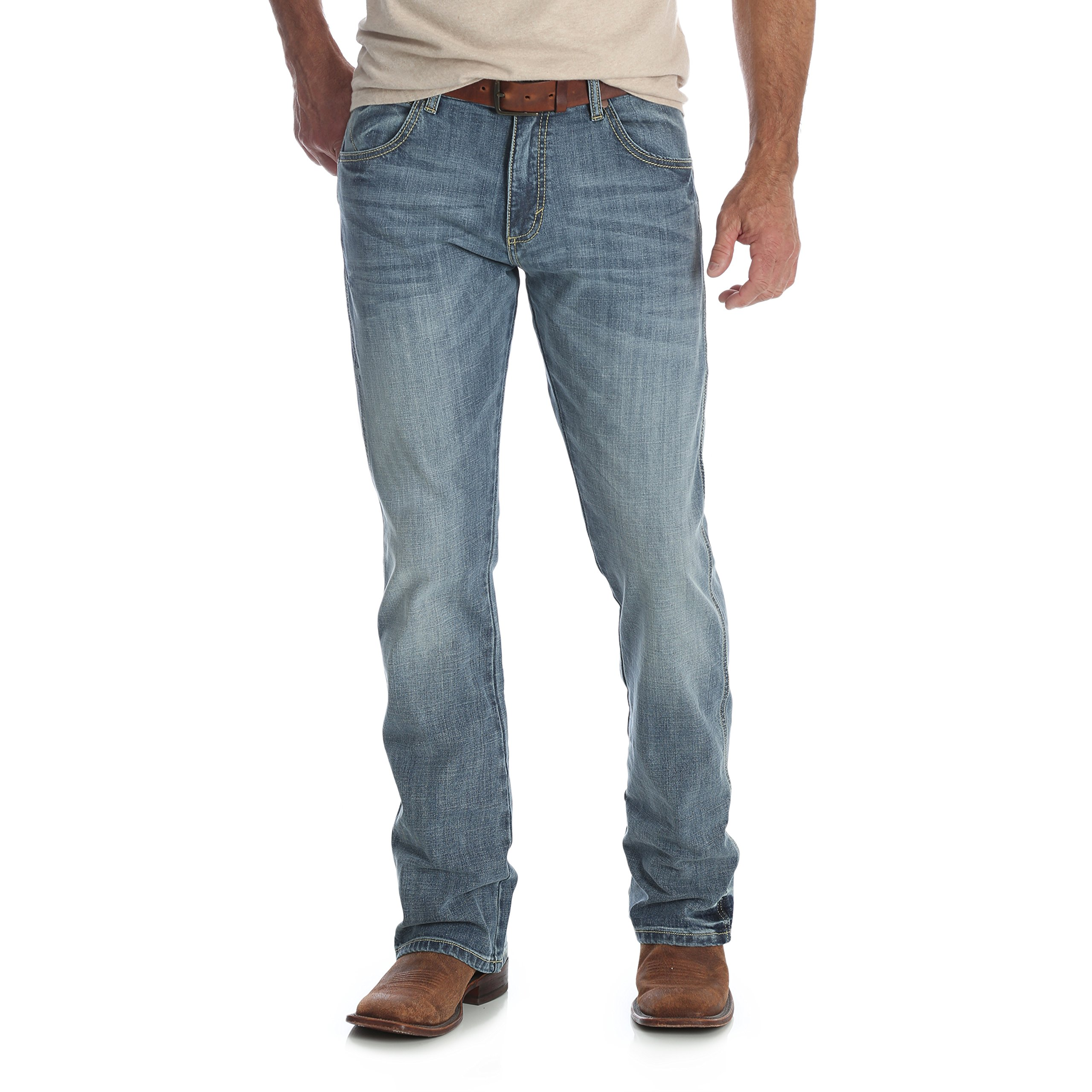 Wrangler Men's Retro Slim Fit Boot Cut Jean, Greeley, 36X32