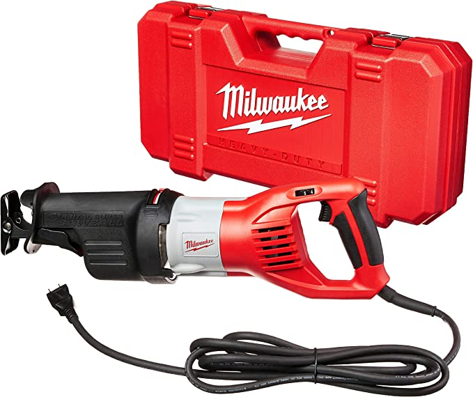 best sawzall: Milwaukee 6538-21 Super Sawzall for both novices & pros!