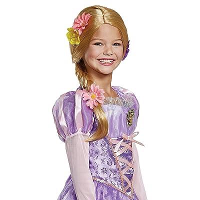 Disney Princess Rapunzel Tangled Deluxe Girls' Wig: Toys & Games