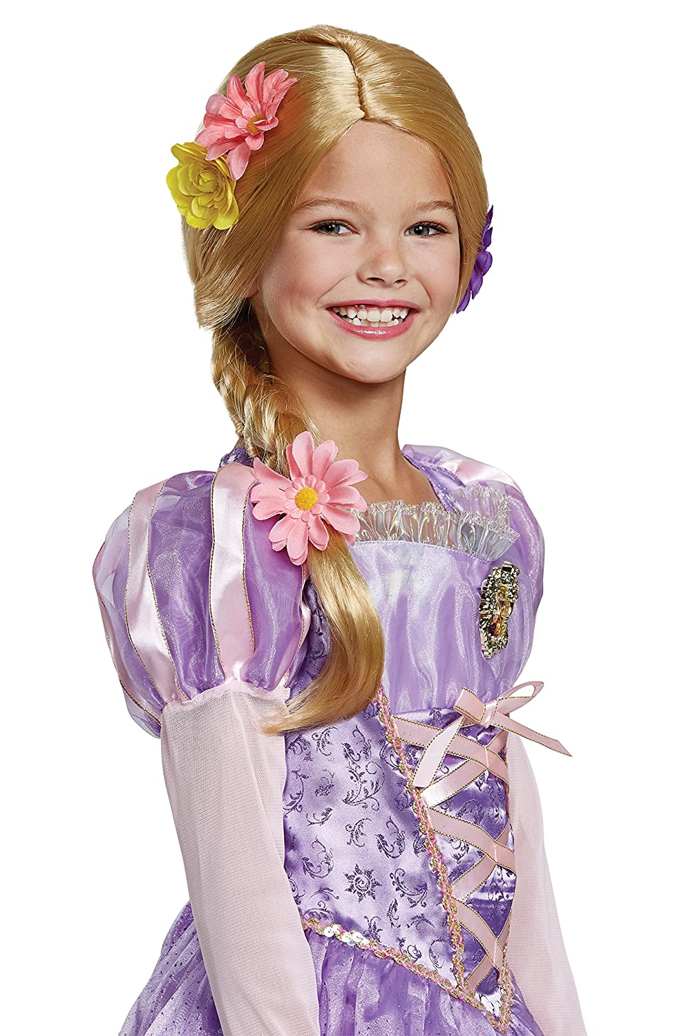 Tangled Rapunzel Deluxe Child Wig One Size Child 79551