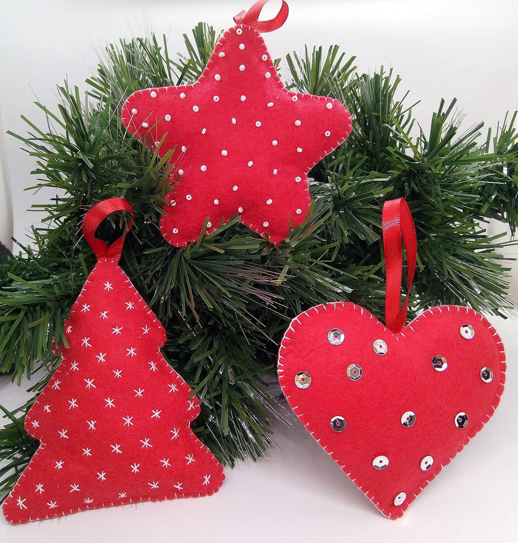Huoyin 30Pcs Palla di Natale Ornamento Appeso Ornamento Resistente Palle Appese Set Albero di Natale Infrangibile per La Decorazione della Festa Nuziale