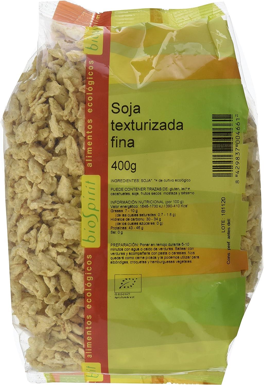 Biospirit Soja texturizada fina de cultivo ecológico- 400 gr ...