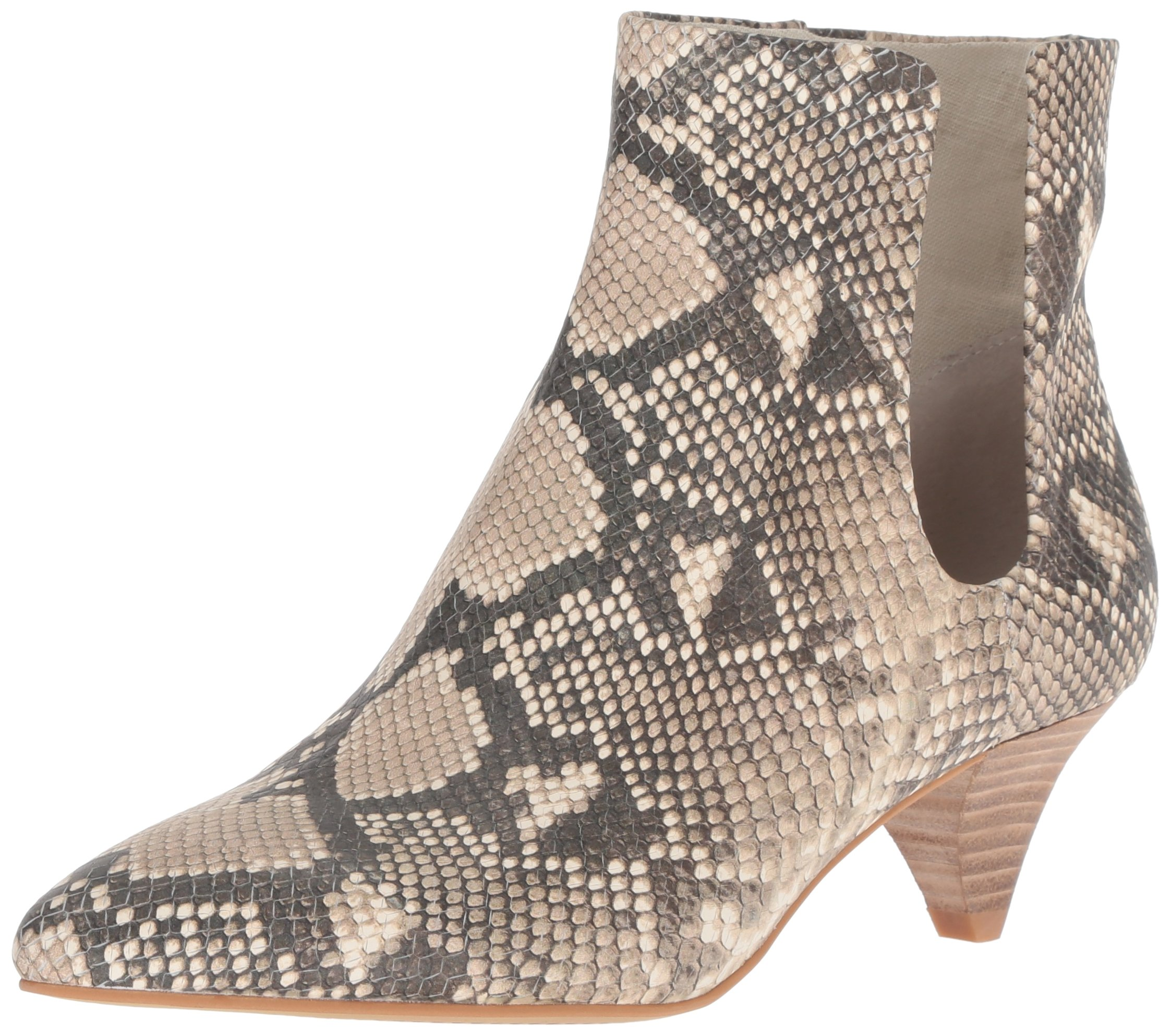 Dolce Vita Women's Yates Ankle Boot, Snake Print Embossed Leather, 6.5 M US by Dolce Vita
