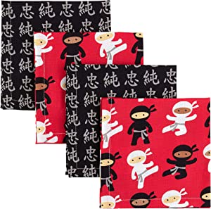 """Funkins Reusable Cloth Napkins for Kids 