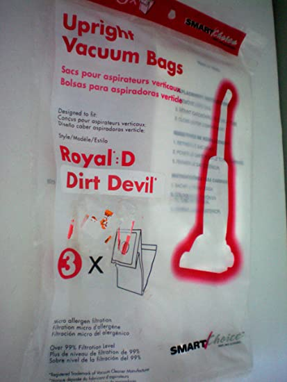 Amazon.com - Royal D -- Dirt Devil -- Upright Vacuum Bags ...