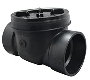 Canplas 123284 Backwater Valve, 4-Inch