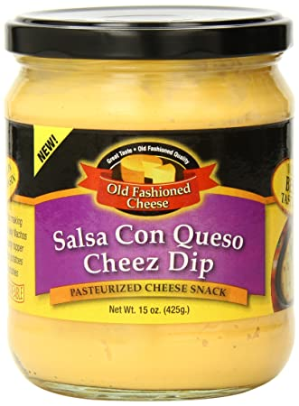Old Fashioned Cheese Salsa Con Queso Dip, 15 Ounce