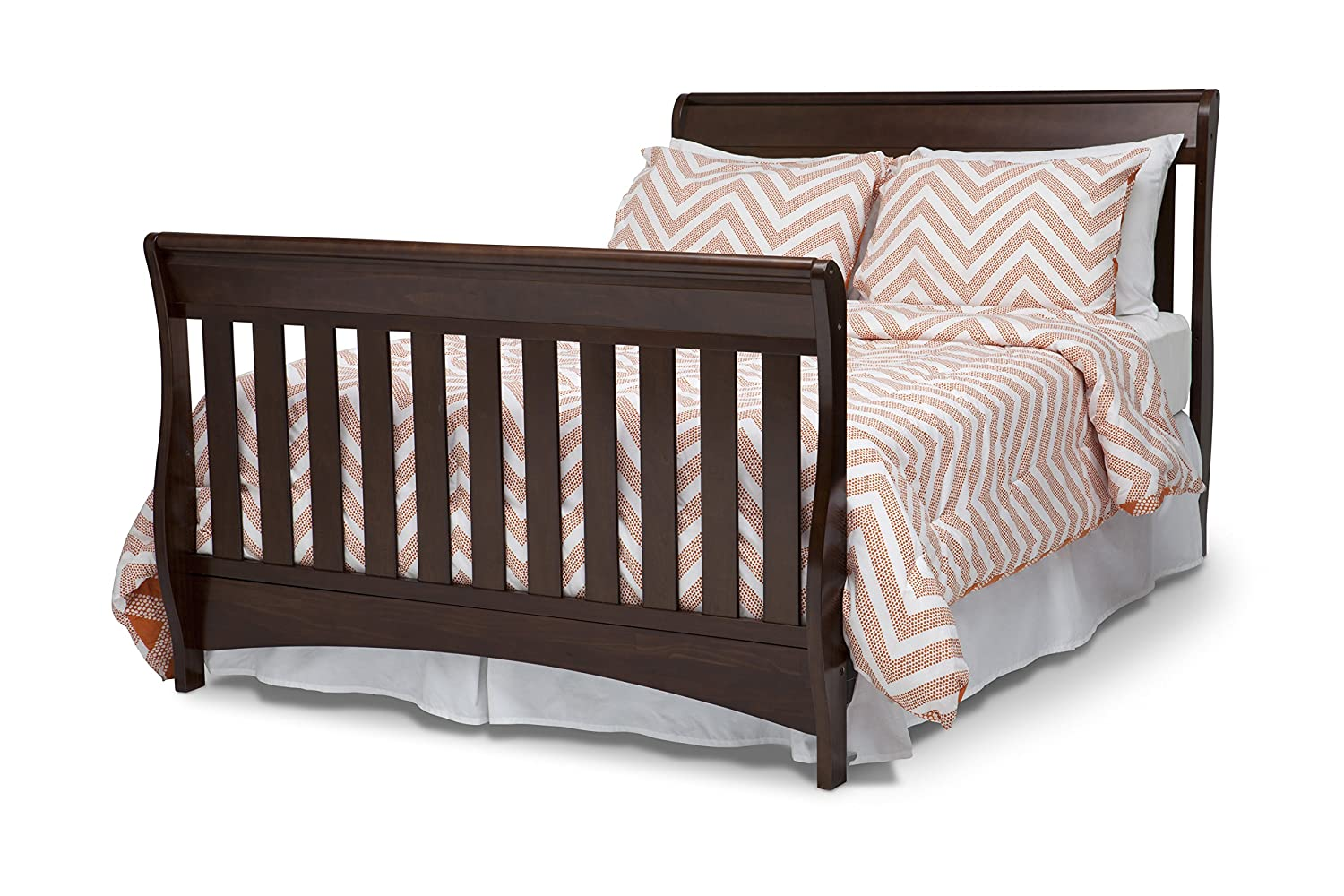 Delta Children Bentley S Series 4 In 1 Crib Chocolate Amazonca Baby