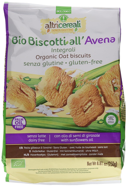 Probios AltriCereali Galleta de Avena Integral - Paquete de 10 x 250 gr - Total: 2500 gr: Amazon.es: Alimentación y bebidas